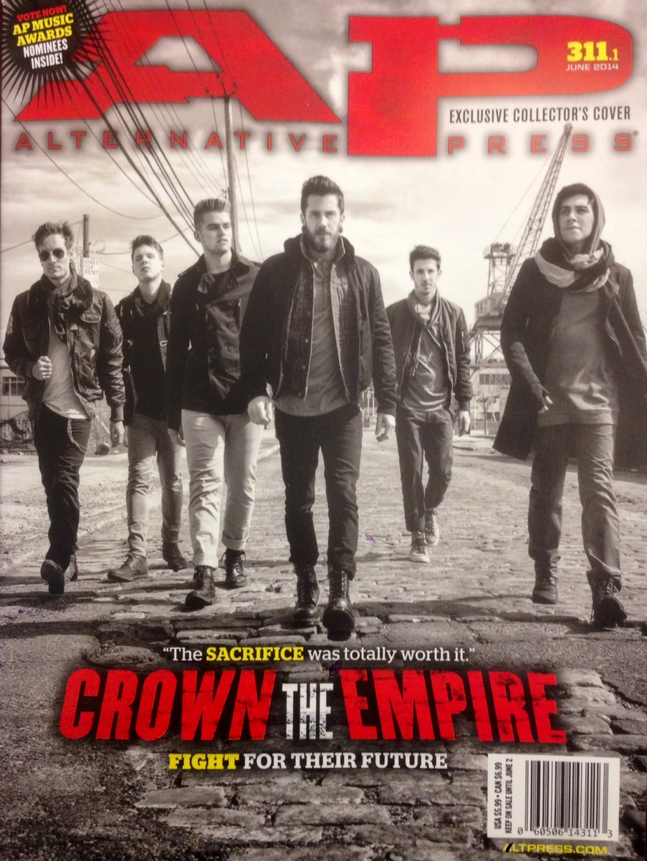 Alternative Press 311 cover